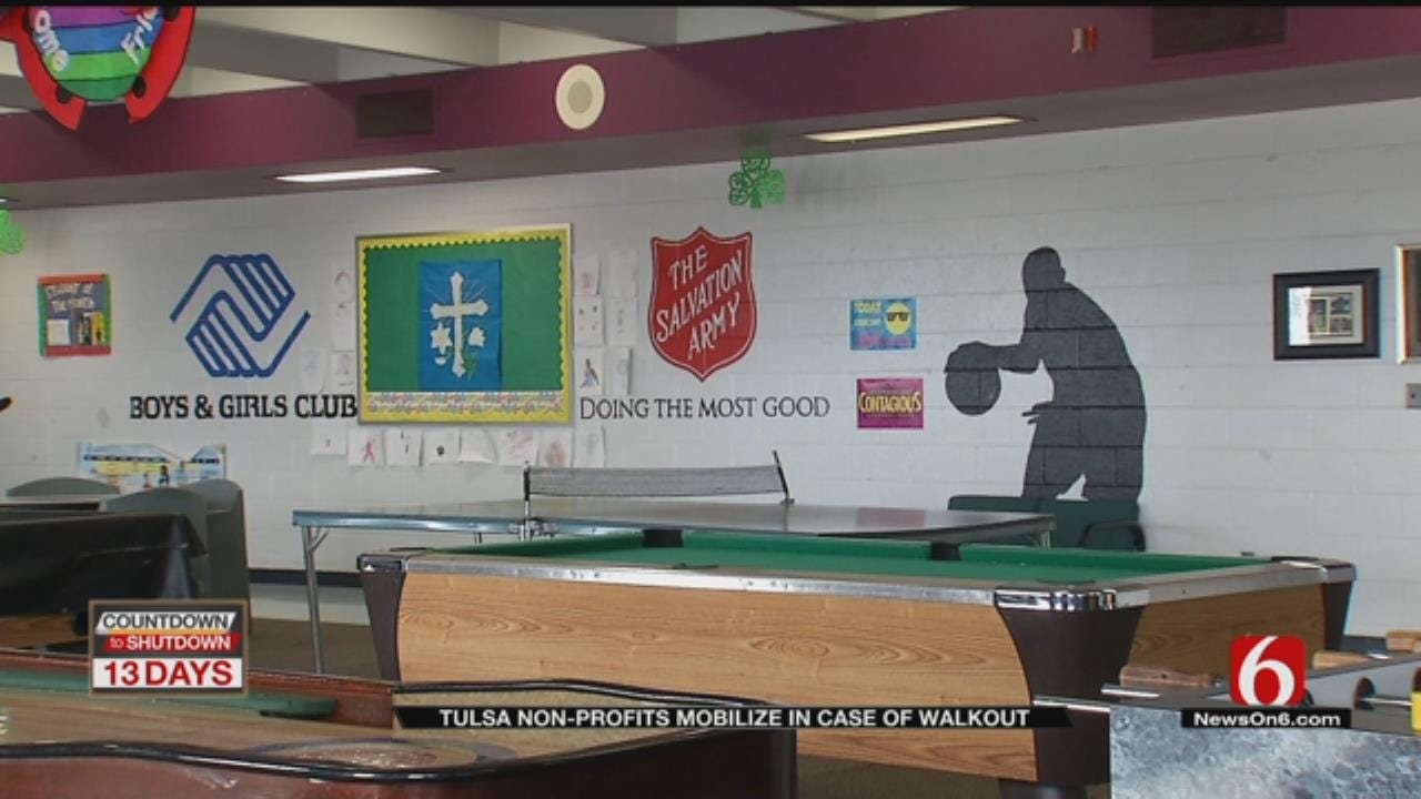Tulsa Charity Groups Offering Help To Families Impacted By Teacher Walkout