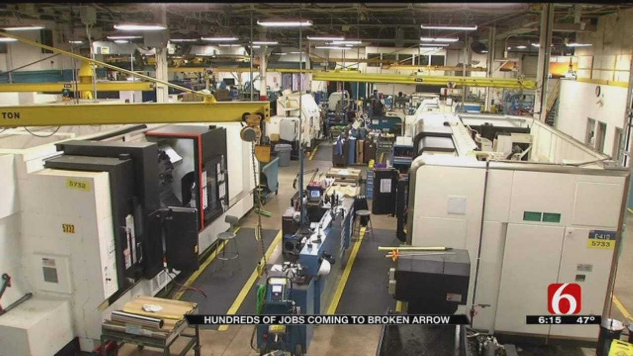 Manufacturing Companies Looking To Hire Hundreds In Broken Arrow
