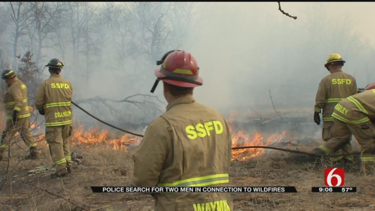 Over 100 Firefighters Utilized To Fight Sand Springs Fires