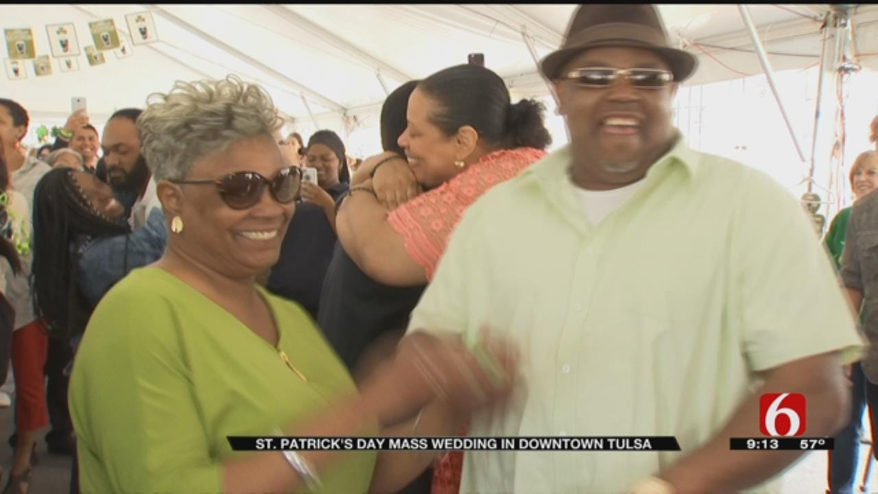 Tulsa Judge Officiates St. Patrick's Day Mass Wedding