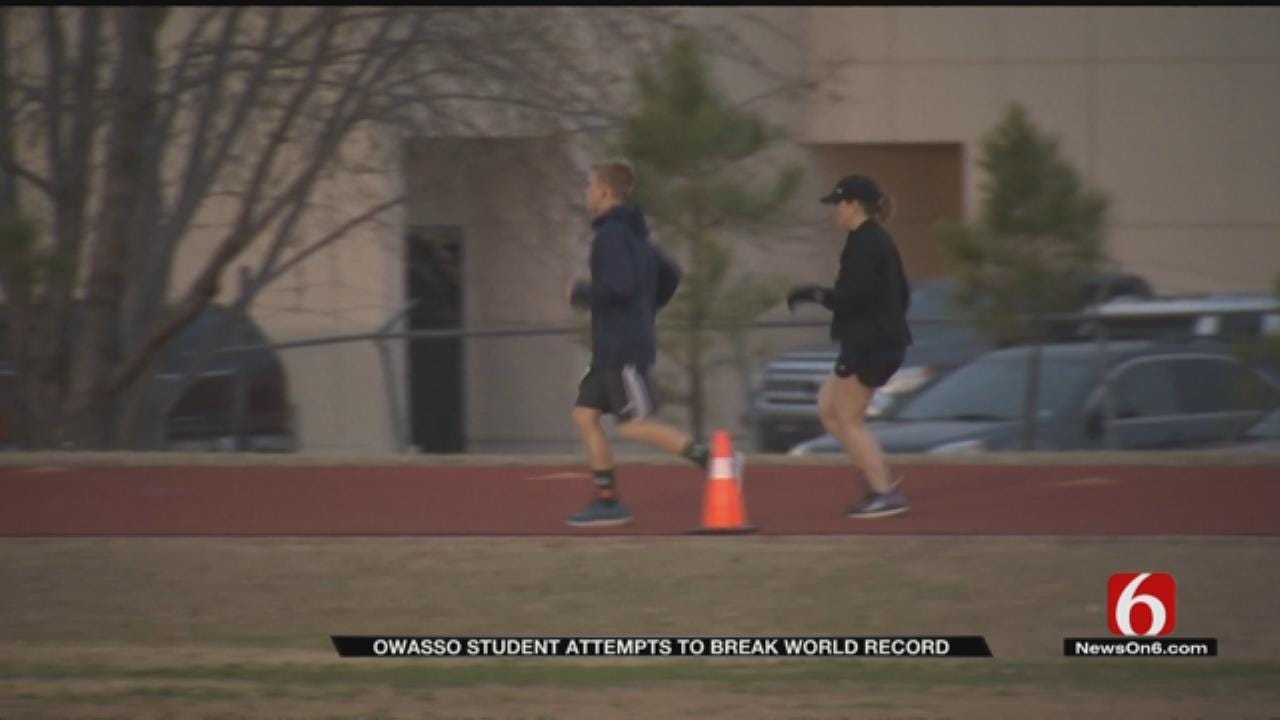 Runners Attempt 24-Hour Race In Owasso
