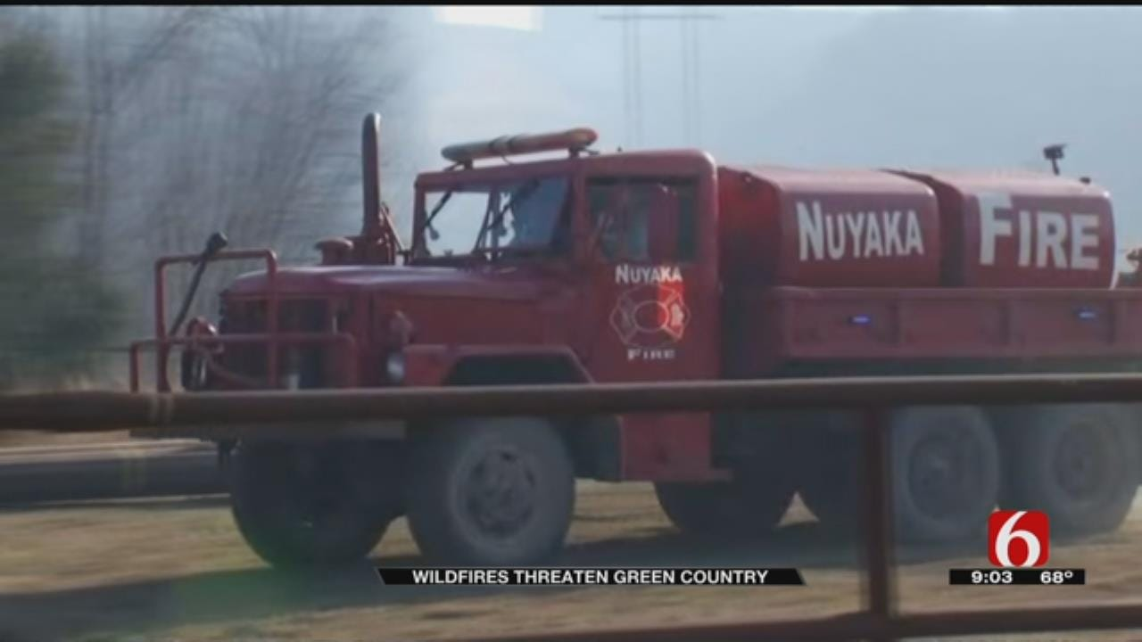 Possible Arsons Frustrate Okmulgee County Fire Crews