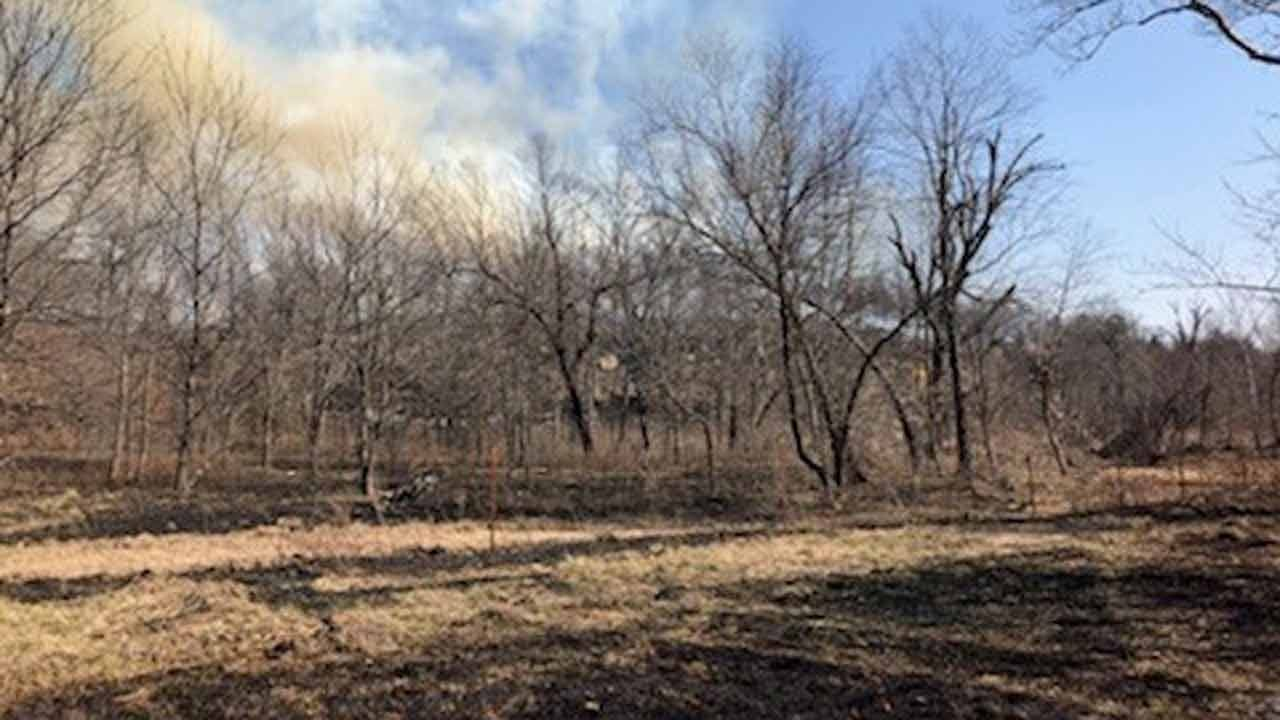 Amy Slanchik: Fire Northwest Of Skiatook