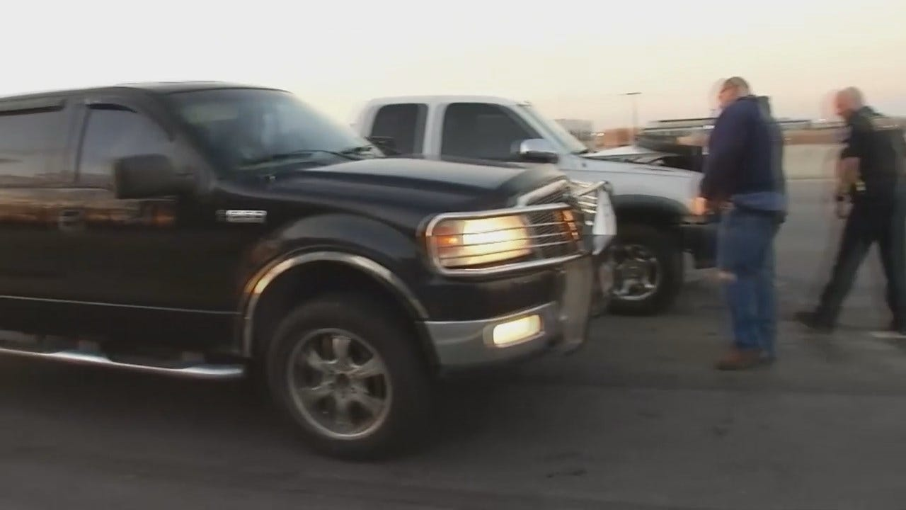 WEB EXTRA: Video From Scene Of BA Expressway Multi-Vehicle Crash