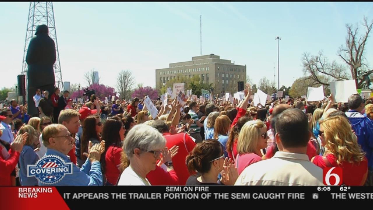 Oklahoma Teachers To Go To Capitol For Pay Raise Vote