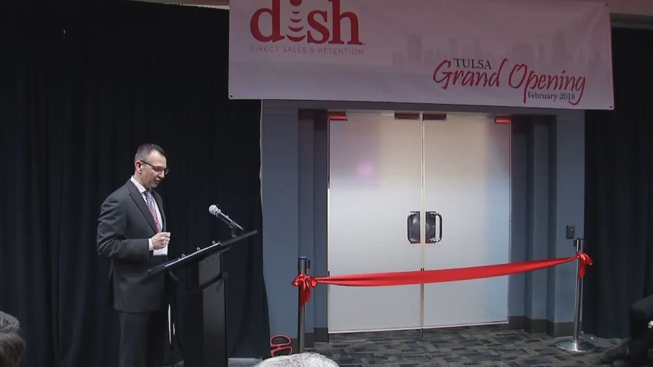 WEB EXTRA: Video From DISH New Jobs Announcement