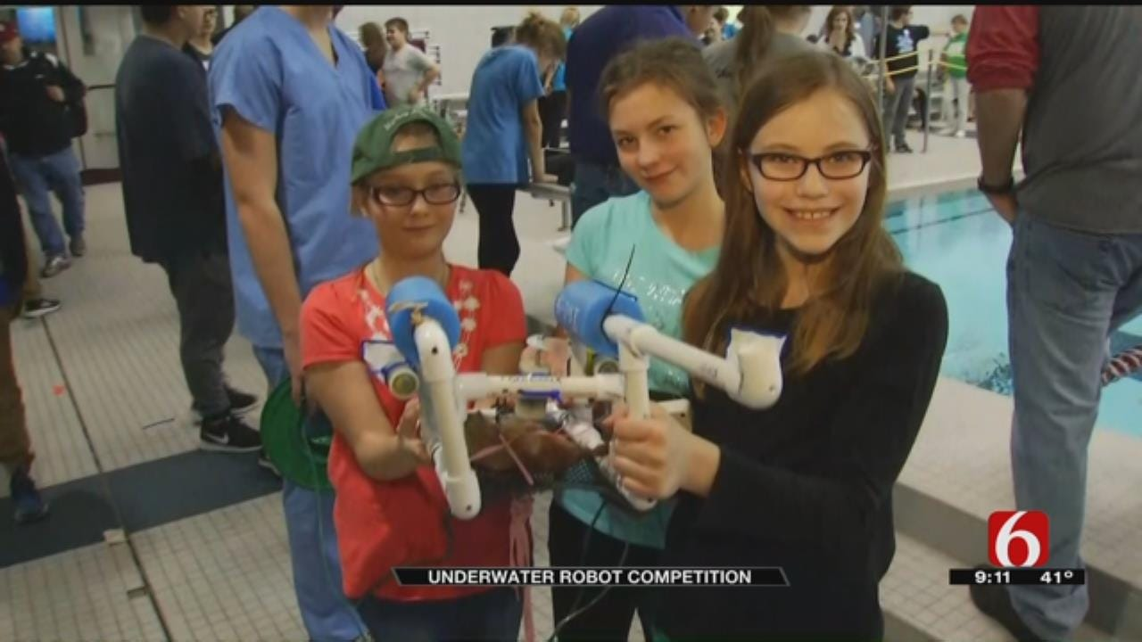 Green Country Students Build Underwater Robots