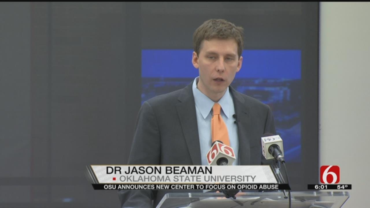 Tulsa's OSU Health Sciences Center Focuses On Opioid Addicts