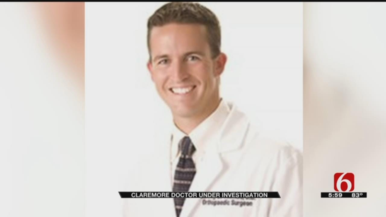 Claremore Doctor Under Investigation For Obtaining Pain Killers By Fraud