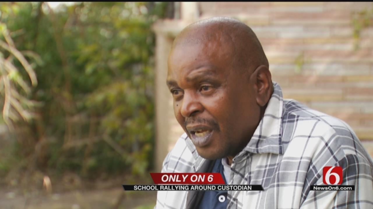 Tulsa Educators Create Go Fund Me To Help Beloved Custodian