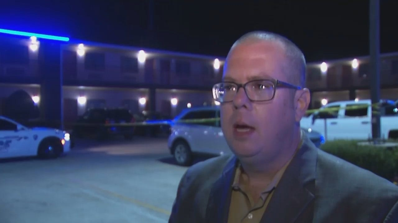 WEB EXTRA: Owasso Police Deputy Chief Jason Woodruff Talks About Stabbing