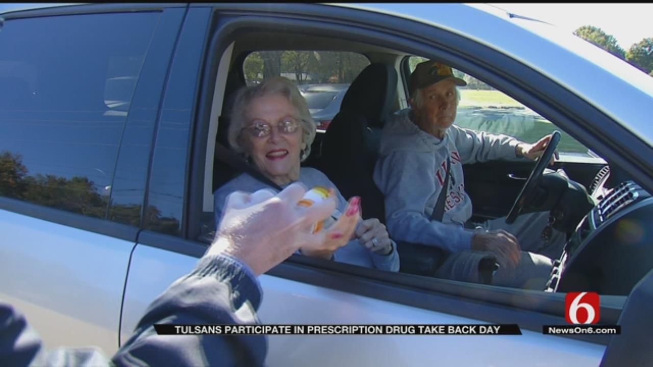 Tulsa Dumps Old Prescriptions In Drug Take-Back Day