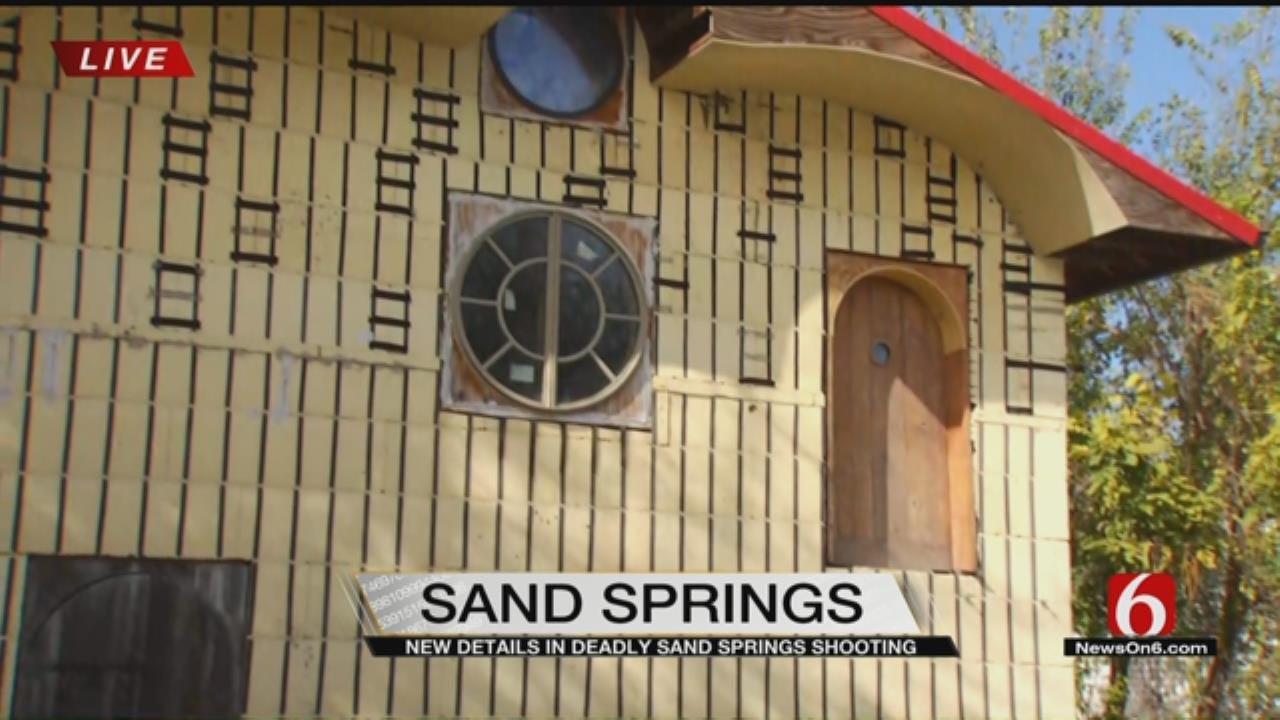 Suspected Sand Springs Burglar Arrested For Burglary, Murder