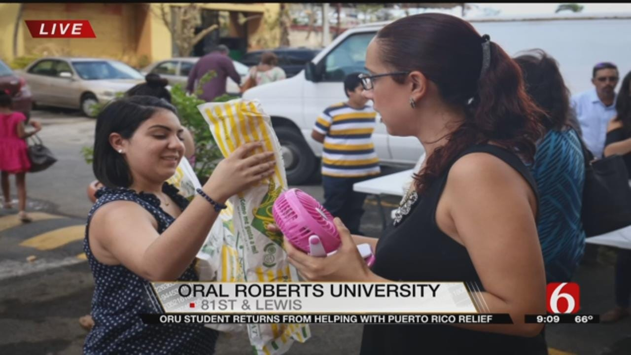 Puerto Rico Trip 'Eye-Opening' For ORU Student