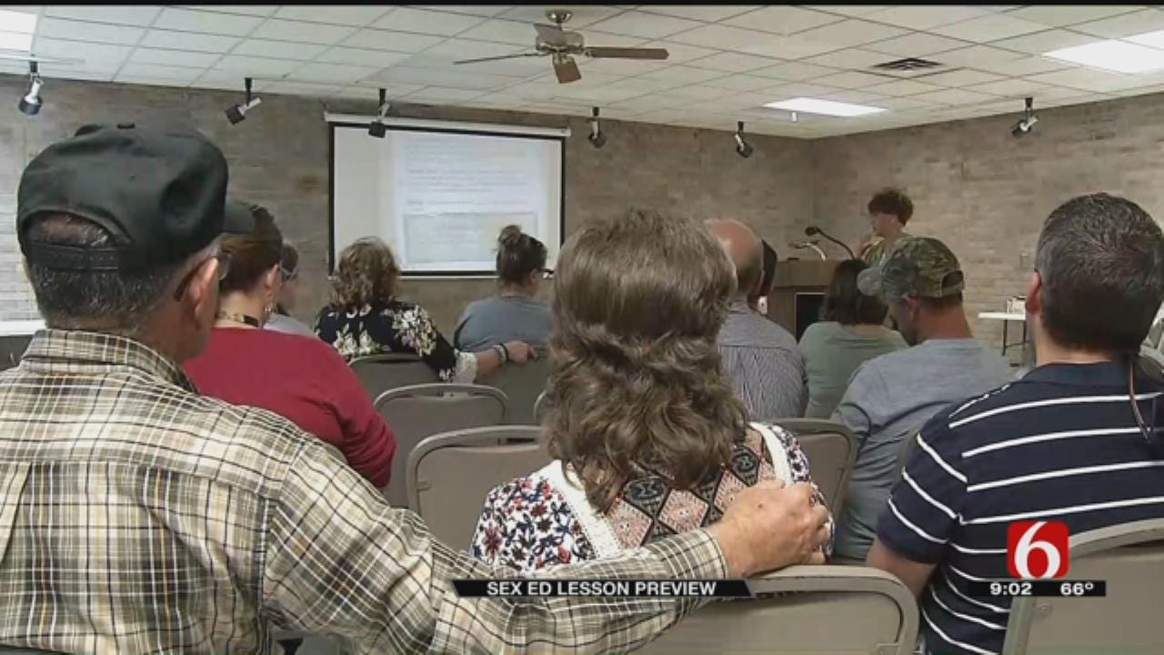 Jay Parents Learn More About Controversial Sex Ed