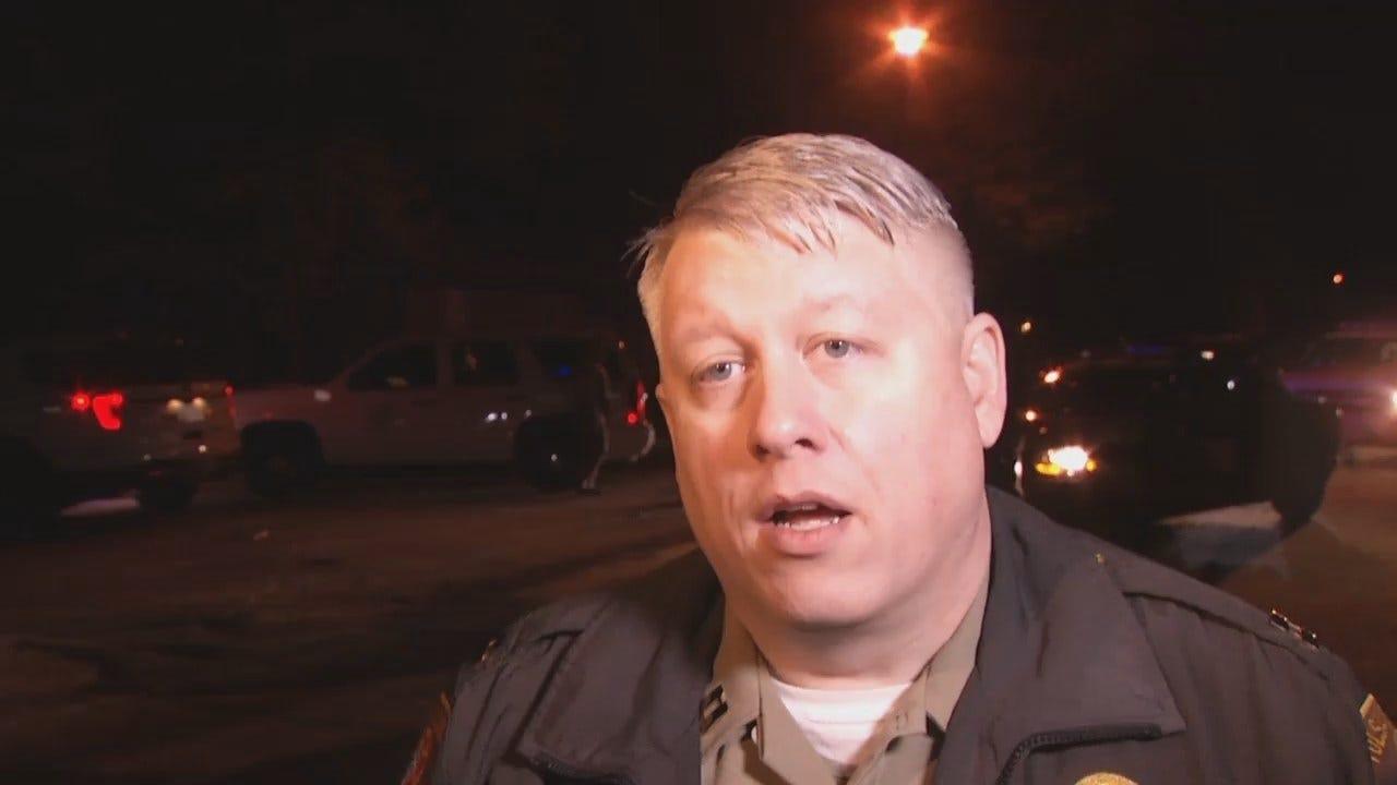 WEB EXTRA: Tulsa County Sheriff's Captain John Bryant Talks About Chase, Arrest