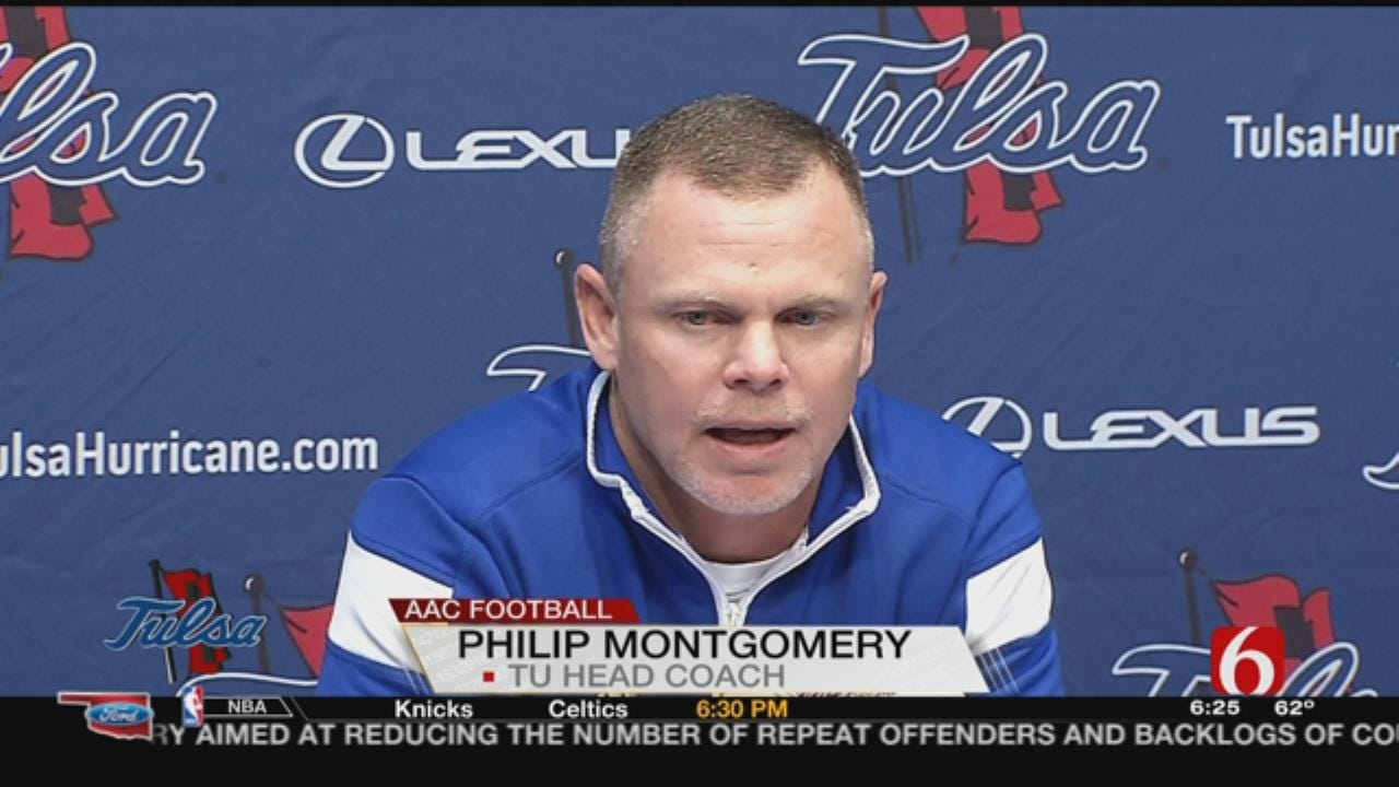 Montgomery, Players Talk Loss To UConn, Upcoming Matchup Against SMU