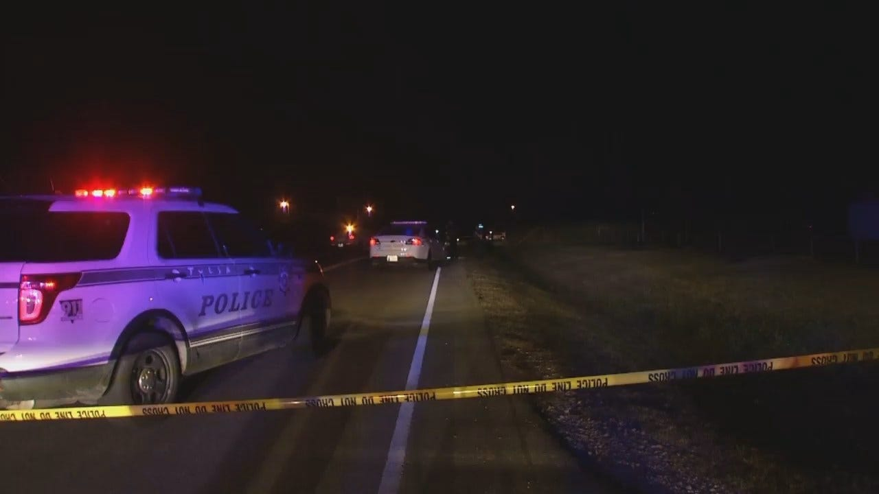 WEB EXTRA: Video From Scene Of Tulsa's 71st Homicide Of 2017
