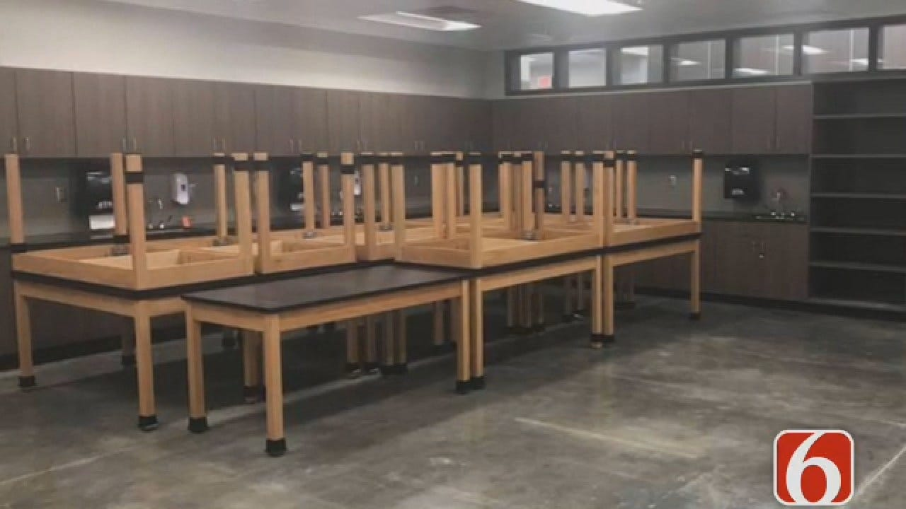 Joseph Holloway Says Broken Arrow Opens New Addition At High School