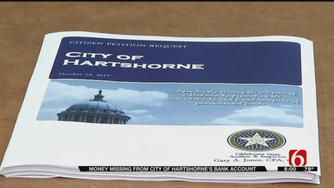 Details Unfold In Hartshorne Audit Scandal