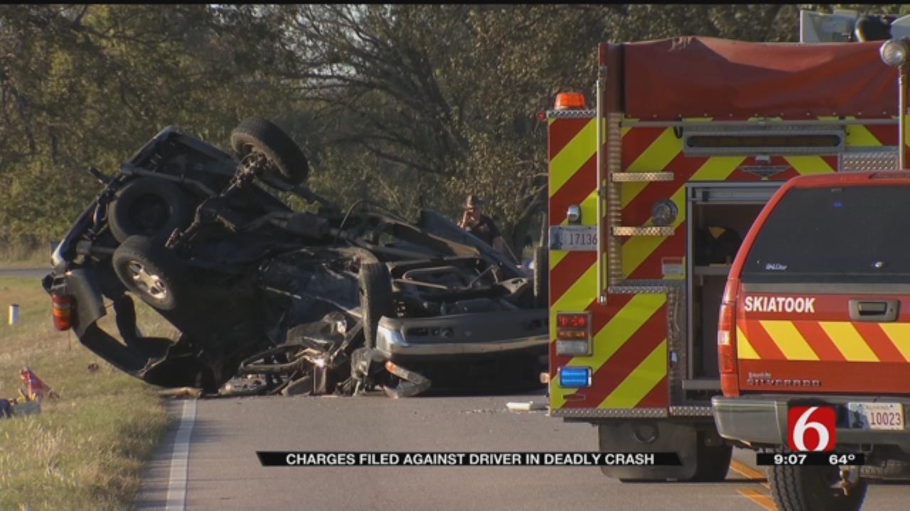 Washington County Man Charged In Fatal Crash