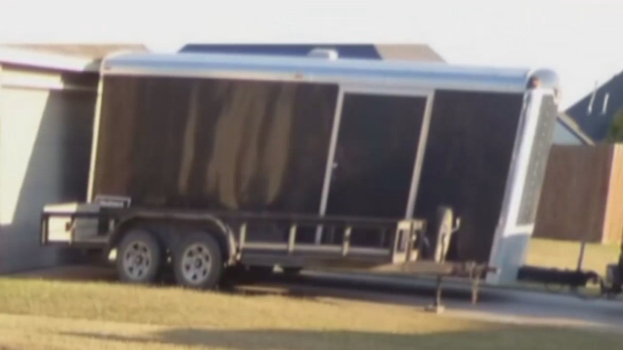 Tulsa Family Loses Treasured Possessions In Moving Trailer Theft