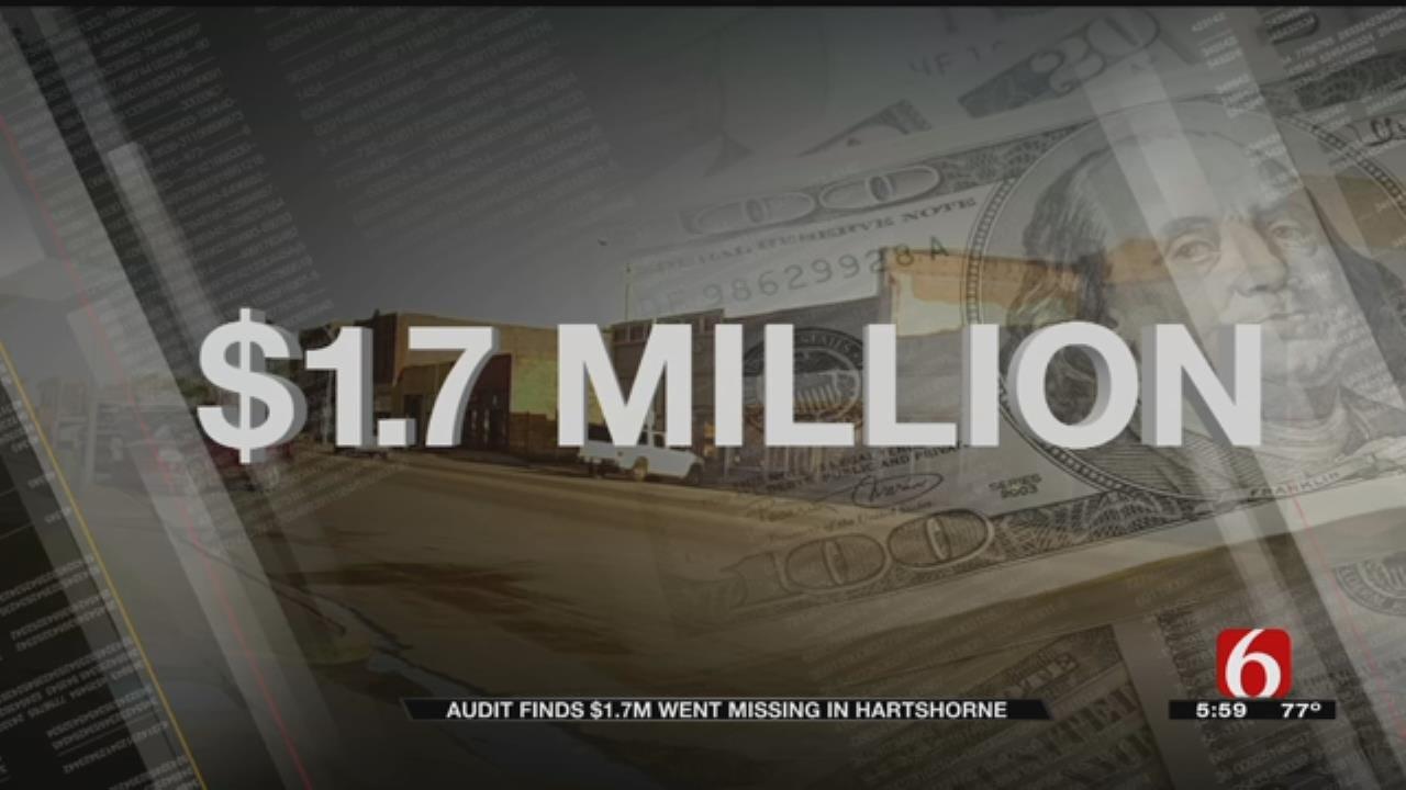 Audit Reveals More Than $1 Million Missing In City Of Hartshorne