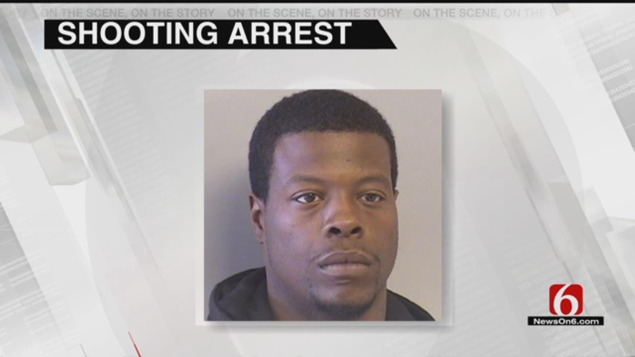 Man Arrested After Tulsa Woman Shot
