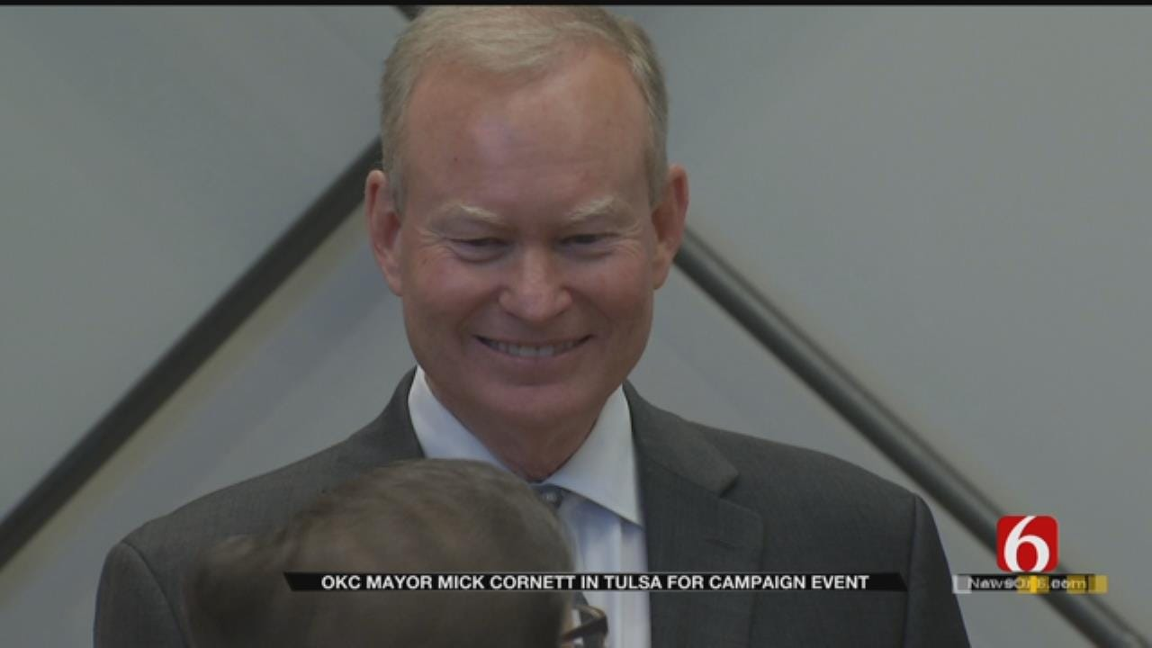 OKC Mayor Kicks Off Run For Governor In Tulsa