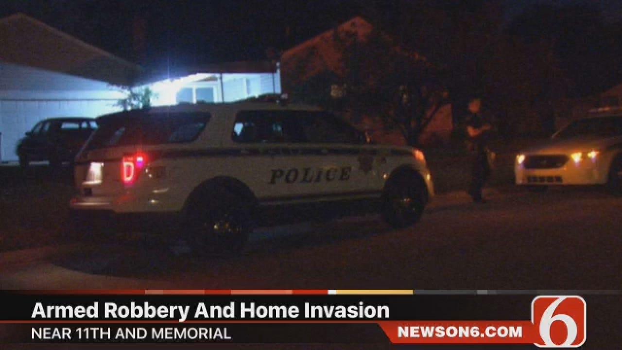 Joseph Holloway Reports On Tulsa Home Invasion