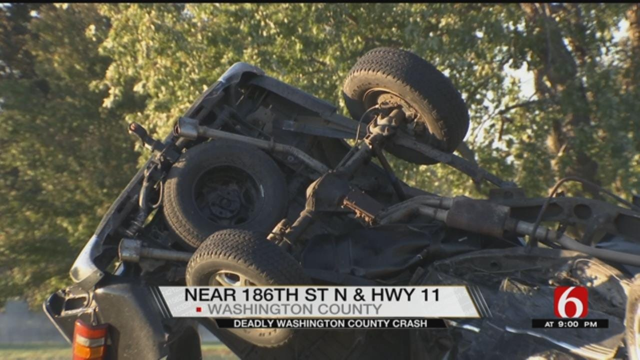 1 Dead, 2 Injured In Washington County Crash