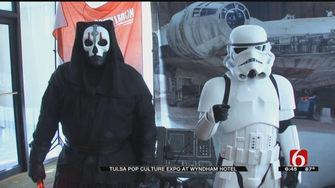 Sci-Fi Stars, Fans Converge For Tulsa Pop Culture Expo