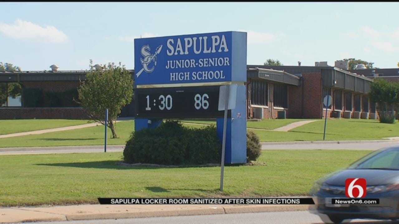 Infection Sweeps Through Sapulpa Football Team