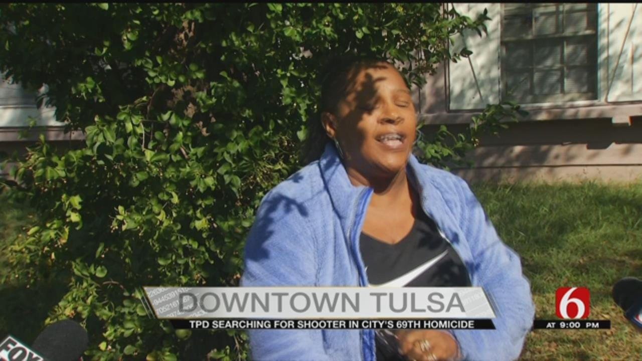 Woman Pleads For Peace After Tulsa's Latest Homicide