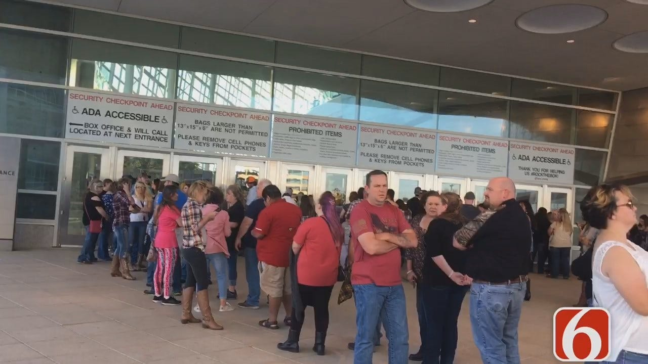 Police Increase Presence For Aldean Concert