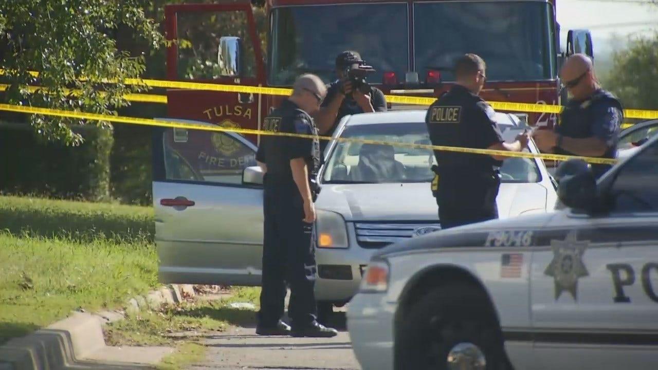 Tulsa Police: Man Found Shot To Death In Car; Toddler Unharmed