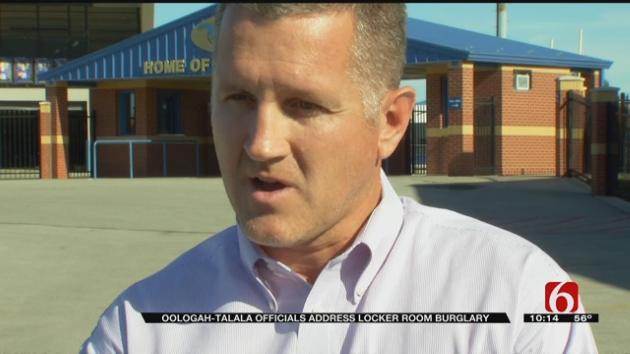 Oologah Assistant Superintendent Speaks Out After Football Locker Room Theft