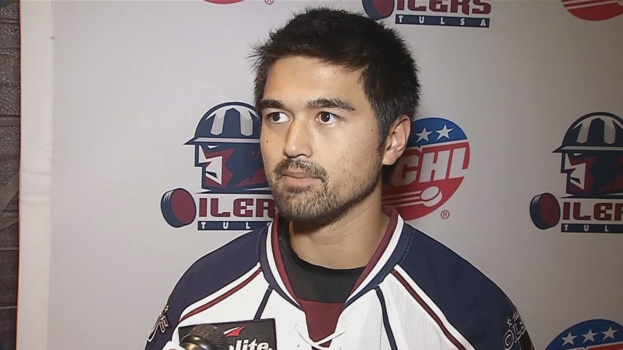 Oilers Defenseman Dennis Brown Talks Upcoming Season And More During Media Day