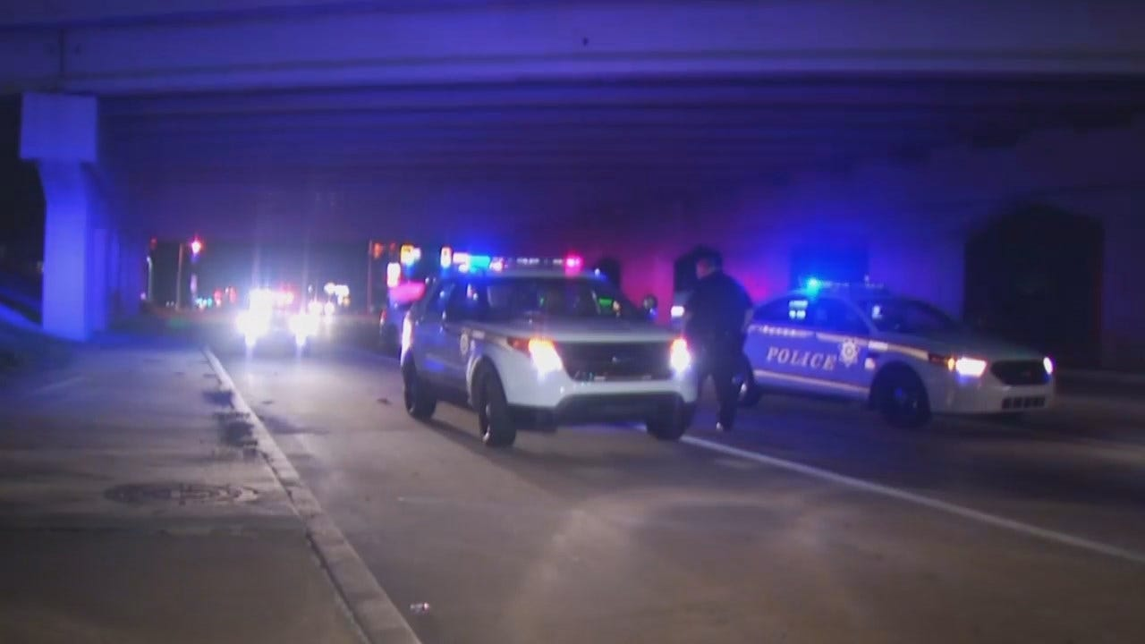 WEB EXTRA: Video From Scene Of SUV/TPD Crash
