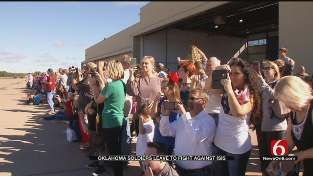 Oklahoma Guardsmen Prepare For Middle East Deployment