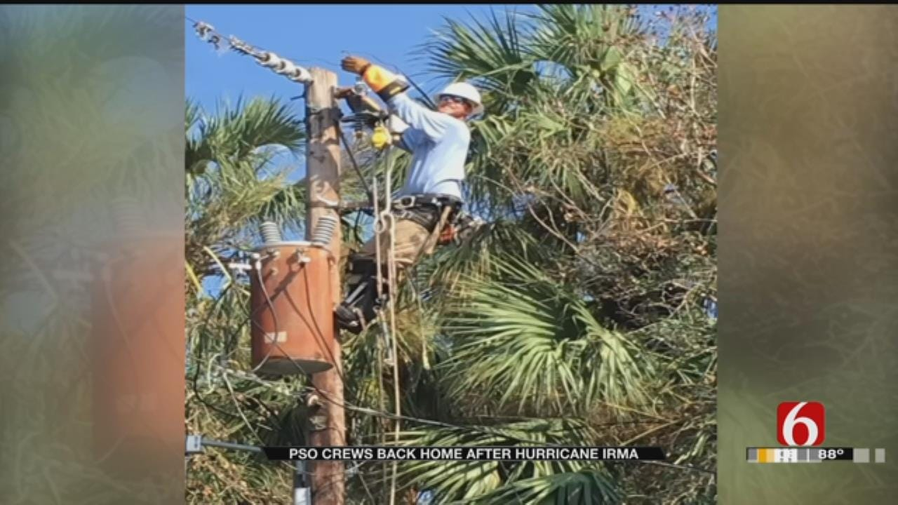 PSO Crews Return Home After Helping Hurricane Irma Victims