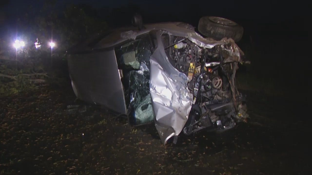 WEB EXTRA: Teen Killed In Rogers County Wreck
