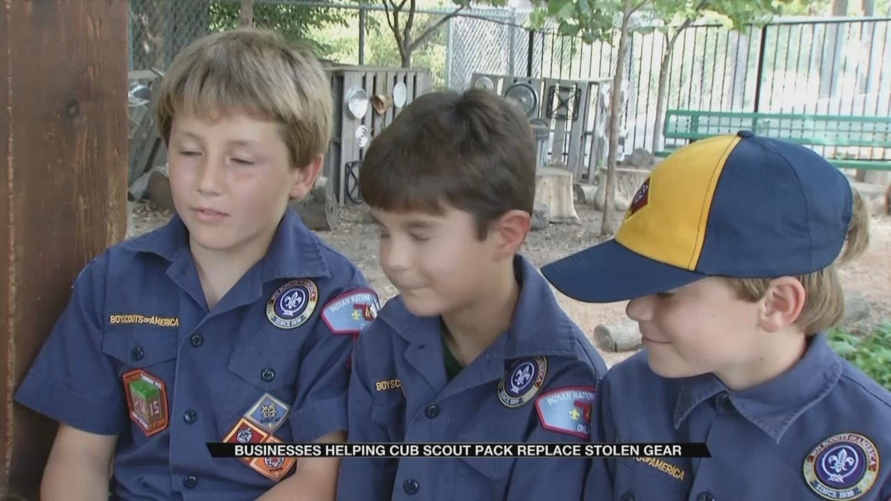 Local Cub Scout Pack Loses $6,000 Worth Of Gear, Asks For Help