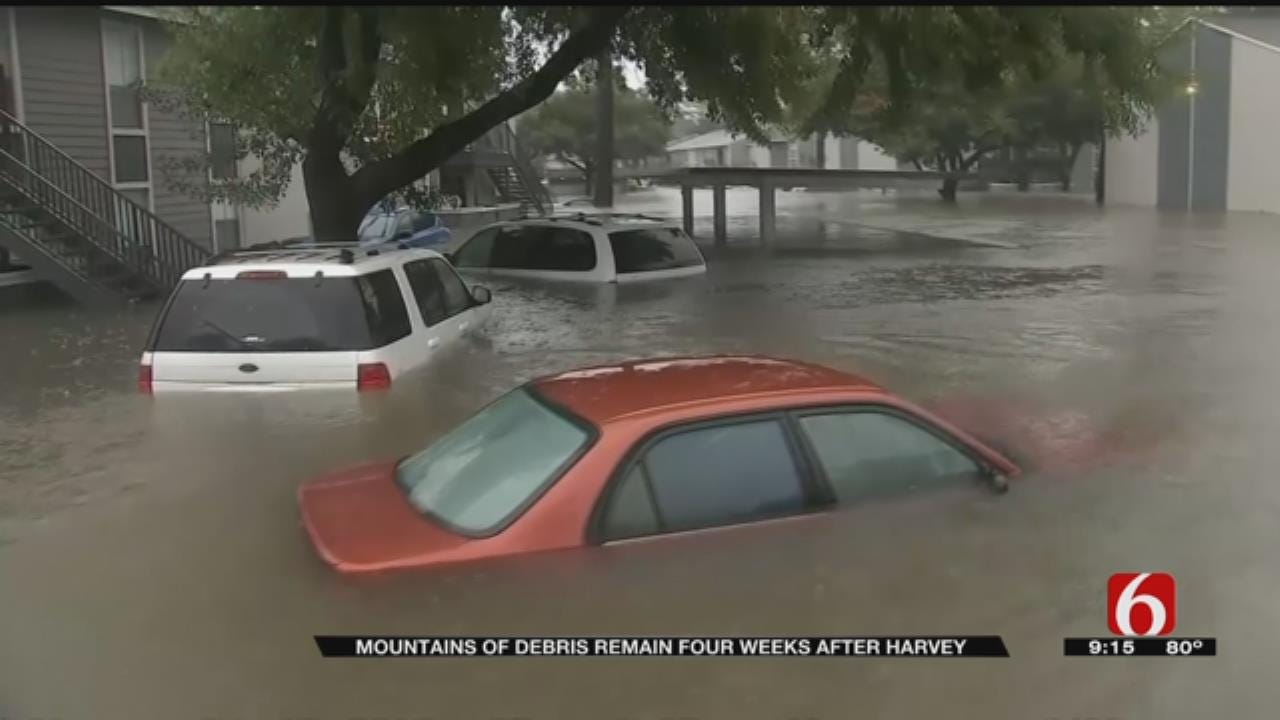 Much Work To Be Done Still One Month After Harvey