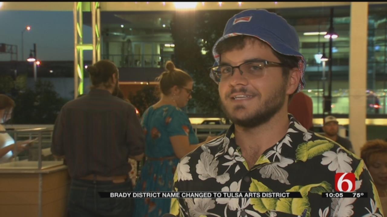 Tulsa's Brady Arts District Adopts New Name