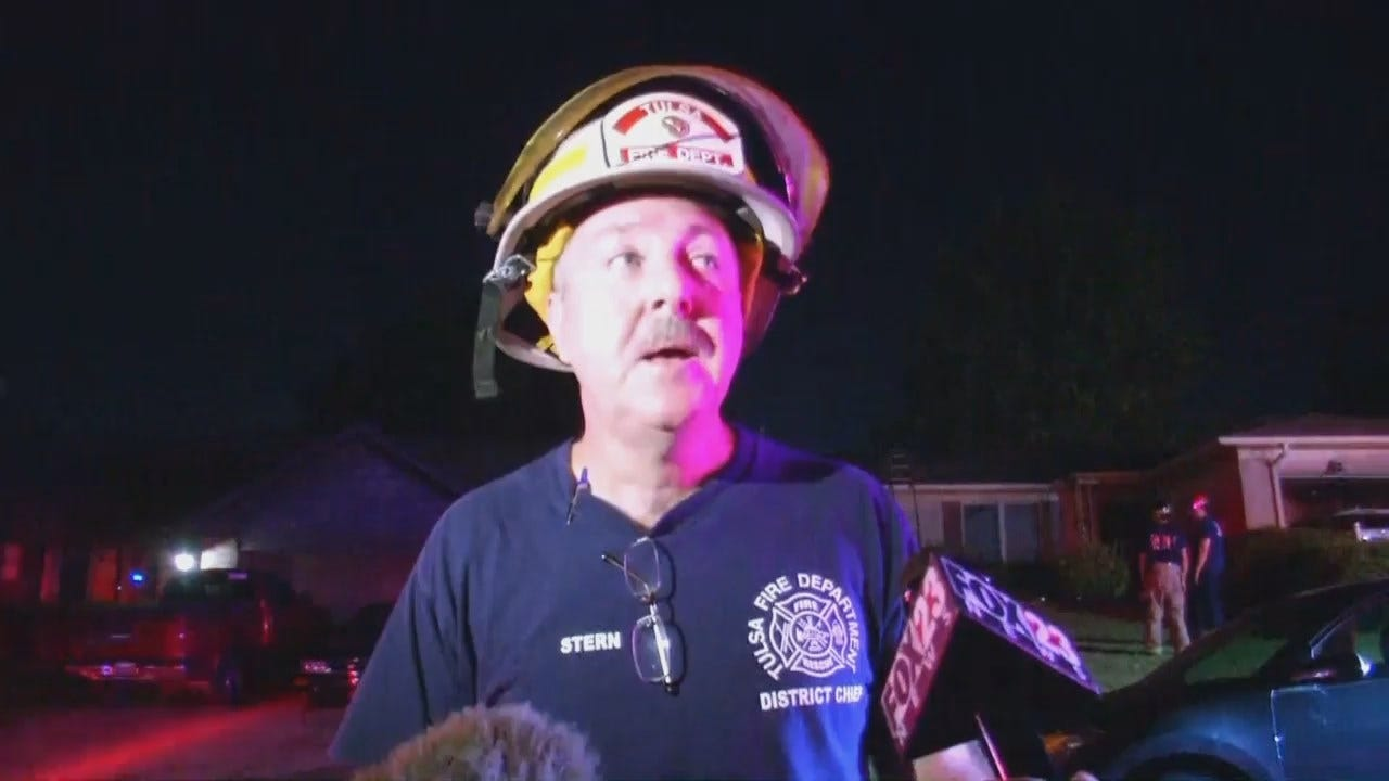 WEB EXTRA: Tulsa District Fire Chief Bob Stern Talks About The Fire