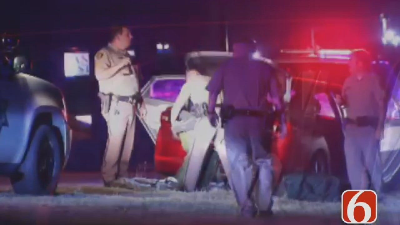 Dave Davis Says Driver Arrested After A High Speed Chase Into Tulsa