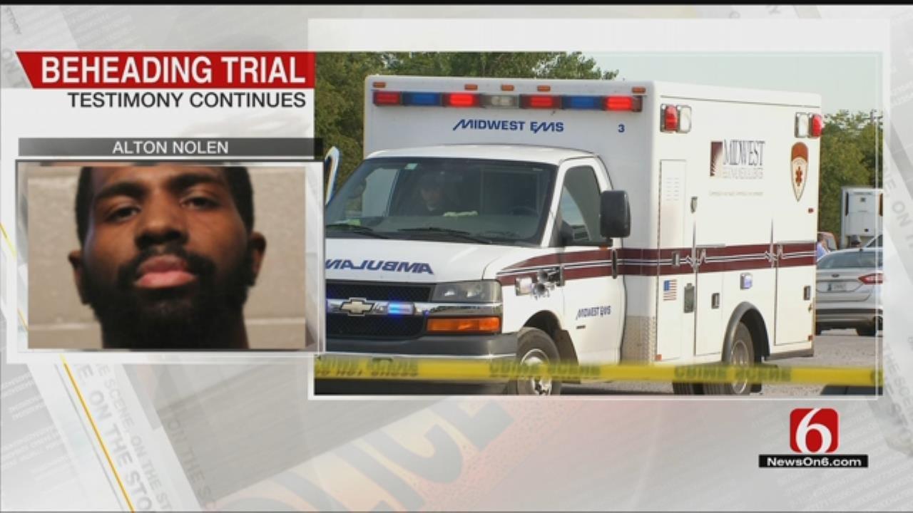 First Responders Testify In Alton Nolen's Beheading Trail