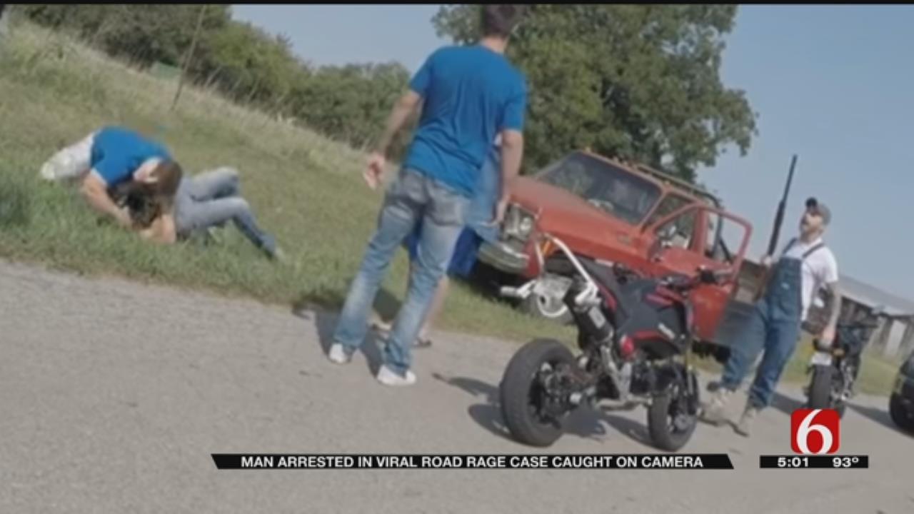 Man Wielding Shotgun In Pawnee County Road Rage Video Now In Custody