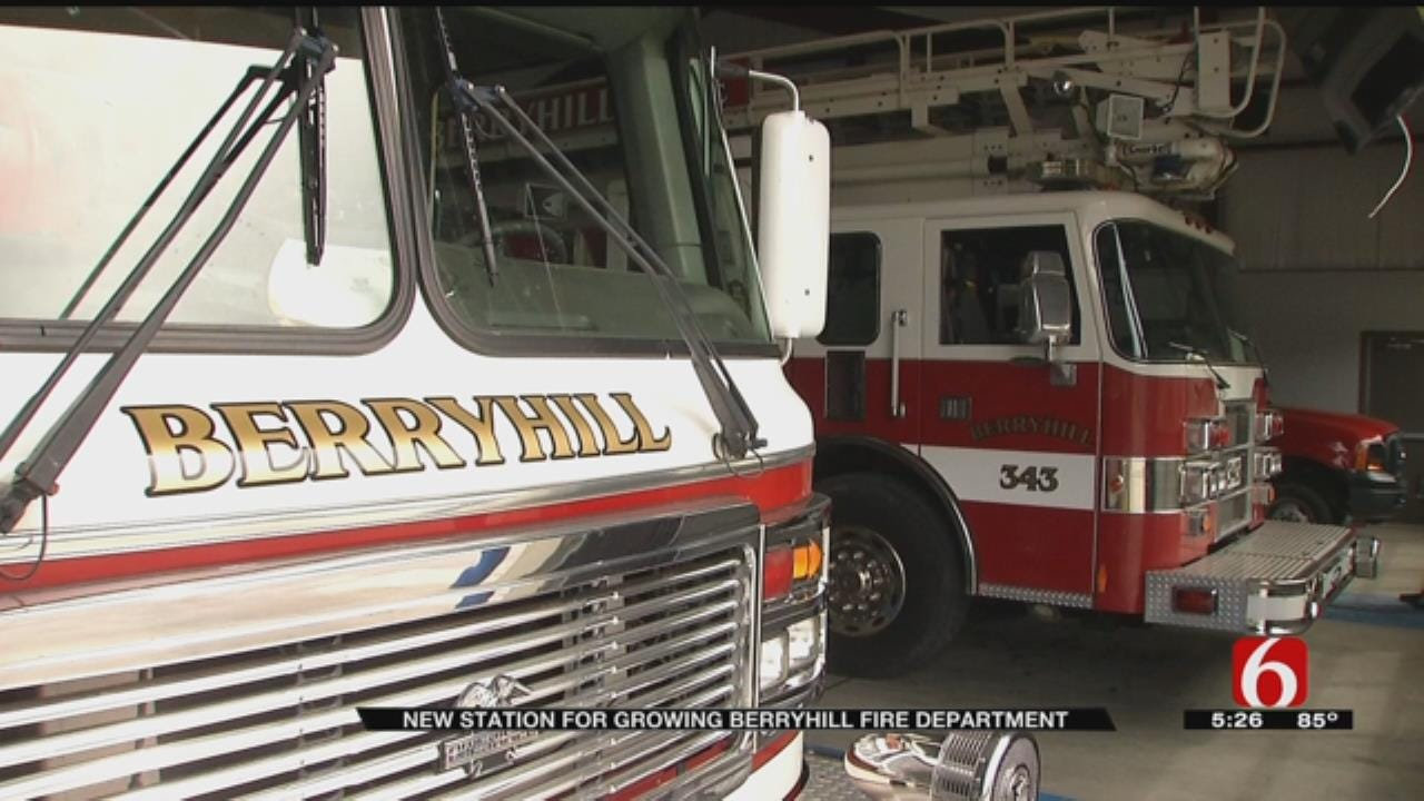 Berryhill Firefighters Get New, Bigger Station